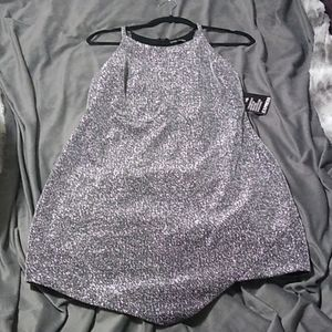 Express Sparkle Holiday/Date Night Short Dress sz8